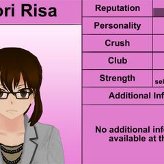 Shiori Risa's 5th profile.