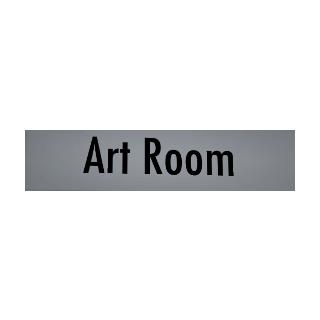 Art Room sign, February 2nd, 2016.