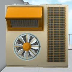 The air ventilation machine. March 15th, 2017.