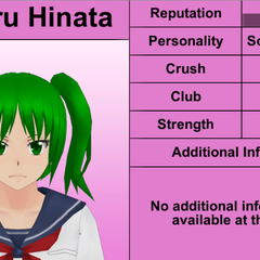 Koharu's 7th profile. February 8th, 2016.