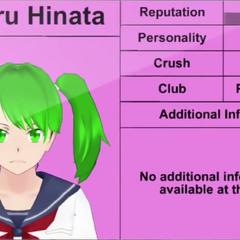 Koharu's 3rd profile.