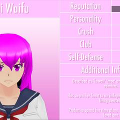 Mai's 6th profile. June 1st, 2016.