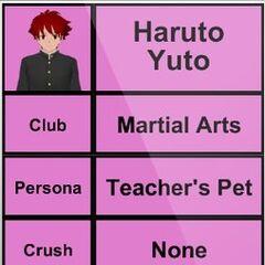Terceiro perfil de Haruto.