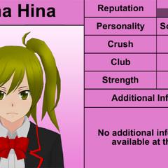 Sétimo perfil de Yuna.