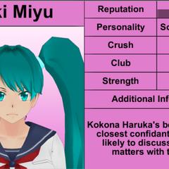 Saki's 8th profile.
