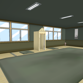 The third appearance of the club room. January 1st, 2016.