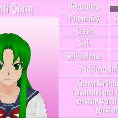 Midori's 9th profile. June 1st, 2016.