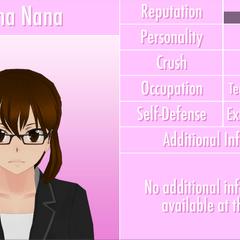 Reina Nana's 9th profile. October 16th, 2016.