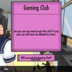 Saindo do Clube