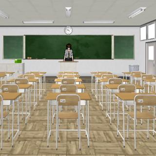 Sala de aula 3-1 antes da atualização de 01 de novembro de 2015.