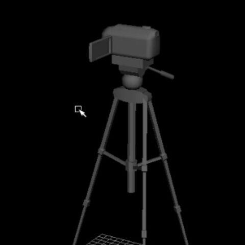 WIP camera, shown on Druelbozo's Twitch.