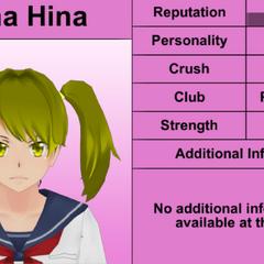 Quarto perfil de Yuna.
