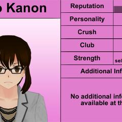 Kaho Kanon's 5th profile.