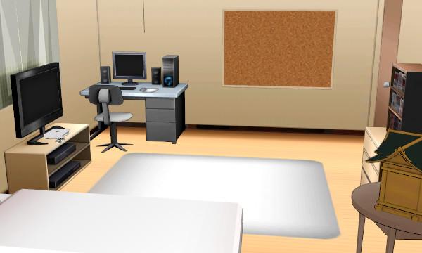 Image mmd yandere simulator ayano s bedroom dl by for Bedroom simulator