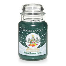 20150126 Magical Frosted Forest Lrg Jar yankeecandle co uk