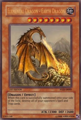 Elemental Dragon - Earth Dragon