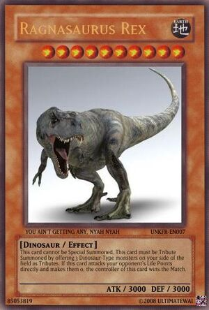 Ragnasaurus Rex