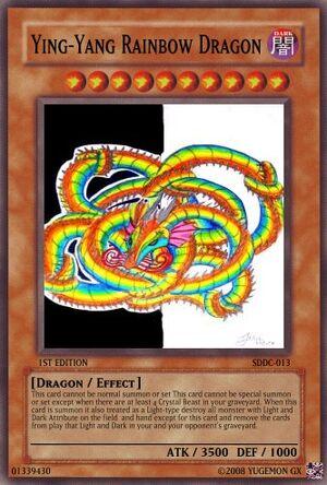 Ying-Yang Rainbow Dragon