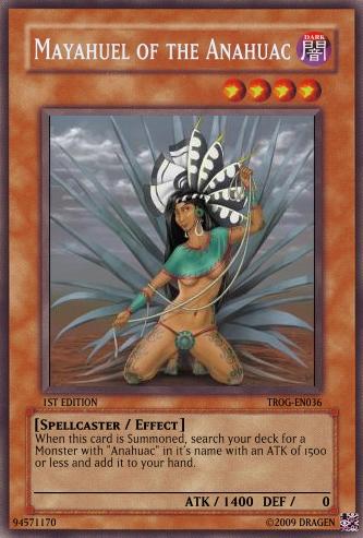 Mayahuel Of The Anahuac Yu Gi Oh Card Maker Wiki