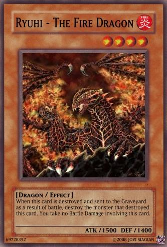 Ryuhi - The Fire Dragon | Yu-Gi-Oh Card Maker Wiki ...Black Fire Dragon Yugioh