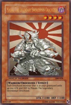 Masaki The Legendary Swordsman Orochized