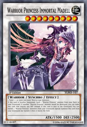 Warrior Princess Immortal Madell