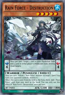 RF-EN001 Rain Force - Destruction