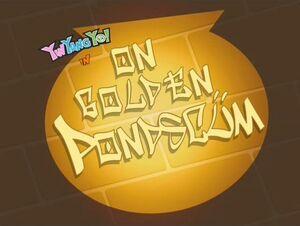 107b - On Golden Pondscum