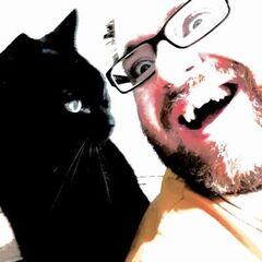 Simon's former Twitter avatar.