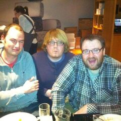 From left to right; Sips, Duncan, and Simon.