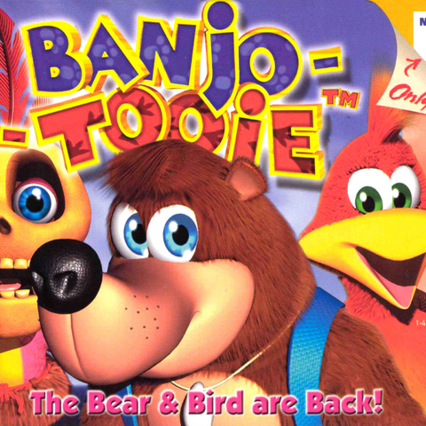 Banjo-Tooie's Cover Art