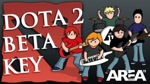 Yogscast - ♪ DOTA 2 Beta Key Fan Song and Animation - Area 11