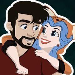 Strippin's former Twitter avatar.