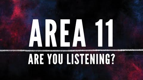 Area 11 - Are You Listening? (Official Lyric Video)