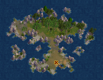 Lonelywood Lagoon (Cobalt)