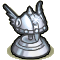 Trophy-Silver Valkyrie Helm