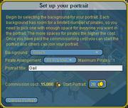 Set up your portrait interface