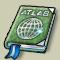 Trophy-Silver Embossed Atlas