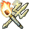 Trophy-Torch and Trident