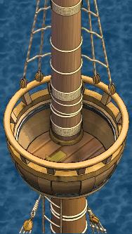 Merchant galleon Main Crow's Nest