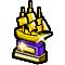 Trophy-Gold Merchant Galleon