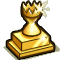 Trophy-Gold Hourglass