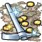Trophy-Silver Pickaxe