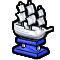 Trophy-Silver War Frigate