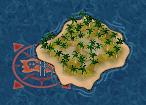 Blockaded island