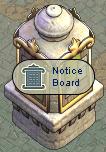 Notice Board Stone