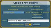 Create building
