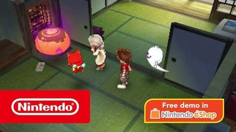 YO-KAI WATCH 2 Bony Spirits & YO-KAI WATCH 2 Fleshy Souls – Demo available now! (Nintendo 3DS)