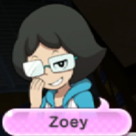 Yokai Watch Zoey Portrait