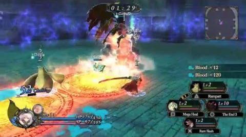 Nights of Azure Arena Gameplay Trailer